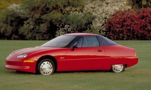 General Motors EV1 är även den hal med en luftmotståndskoefficient på 0,19.