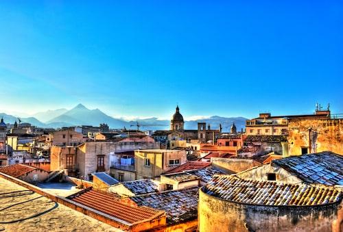 Siciliens vackra huvudstad Palermo.
