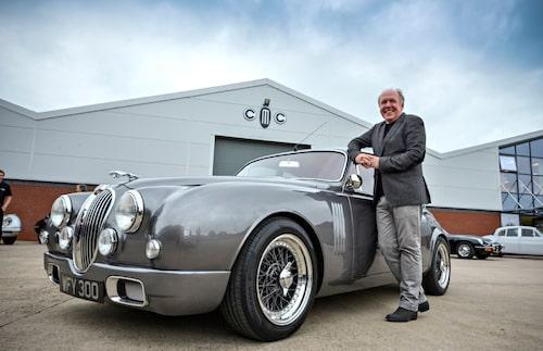 Sitt privata projekt, Jaguar Mk2 tog han från idé till verklighet på under två år.