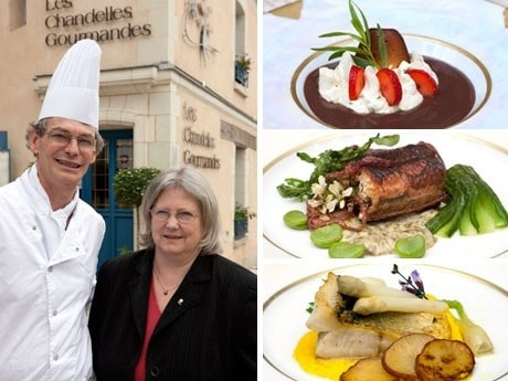 <p><strong>Veckans g&auml;stkock.</strong> Bernat Charret och hans fru vid restaurangen Les Chandelles Gourmandes i byn Larcay.</p>