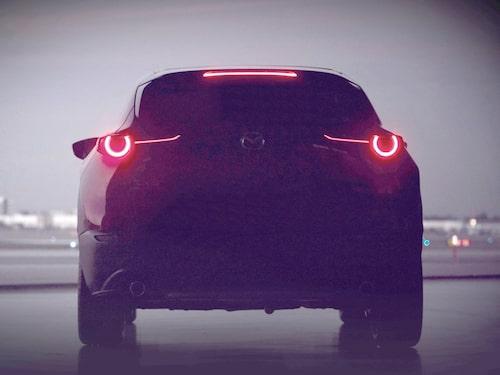 Lite mer lyckas vi plocka fram ur bilden från Mazda.