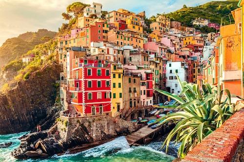 Tänk efter vilka skor du tar på dig innan du ger dig iväg på vandring i Cinque Terres-berg.