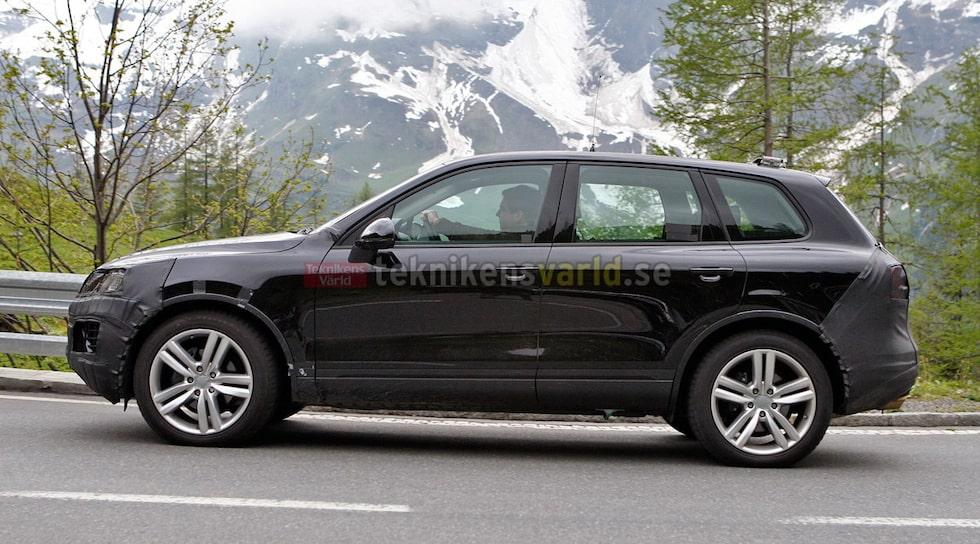 Volkswagen Touareg facelift 2015