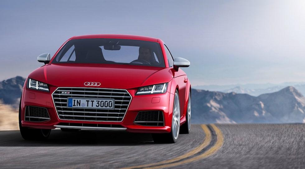 Nya Audi TT 2014