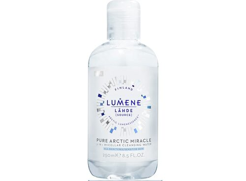 Recension på Lähde pure arctic miracle 3-in-1 micellar cleansing water, 250 ml, Lumene.