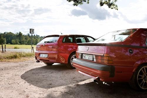 Kanske inga fornlämningar men när såg du en Alfa Romeo 75 senast? Köpläget är stort hos både 75 3,0 V6 och särlingen 156 GTA.