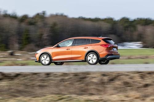 Nya Ford Focus i kombiutförande är i rätt utförande en riktigt trevlig bekantskap. Men 2,0 EcoBlue når inte riktigt dit.