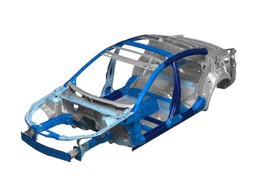 SkyActiv-chassit hos nya Mazda 6.