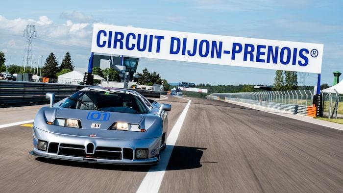 På Dijon-Prenois hölls F1-tävlingar fram till och med 1984.