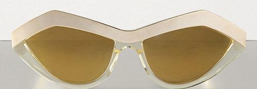 Solglasögon av acetat från Bottega Veneta