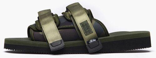 Sandaler i neopren/nylon/vibram från Suicoke/Stüssy.