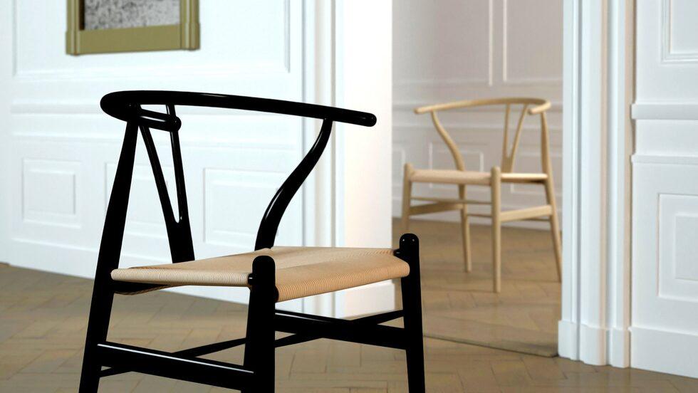 Wishbonechair av Hans J Wegner är en designklassiker.