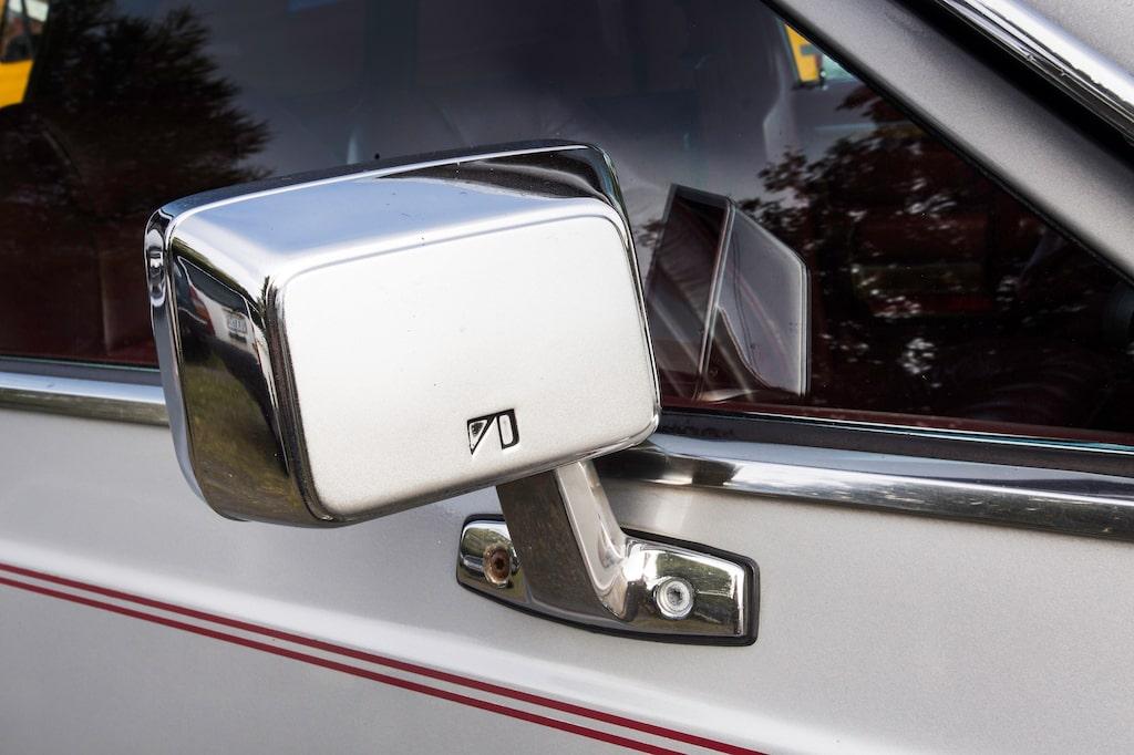 Kromade backspegelhus var hett på 80-talet och har på senare år blivit på modet igen. Se bara på exempelvis Audi som piffar upp sina värsta med detta.