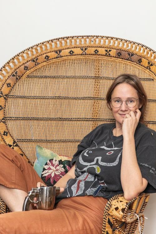 Lina Thomsgård arbetar som museichef på Stockholms kvinnohistoriska museum.