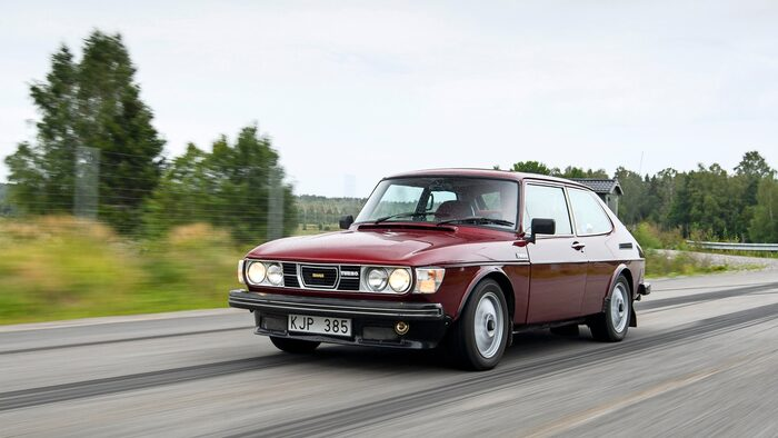 Första riktiga årsmodellen av Saab 99 Turbo kom 1978 och det var inte tal om att välja karossform, det fanns bara Combi coupé att tillgå.