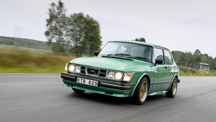 Air Flow-paket tillverkades inte av Saab men salufördes hos företagets återförsäljare. Dyrt i dag.