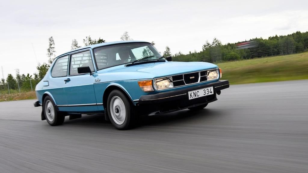 Den här fina 1980 års modell kunde ha gått ett hemskt öde till mötes. Den räddades ur klorna på en folkraceentusiast i Hallsberg av Kjell Gustavsson.