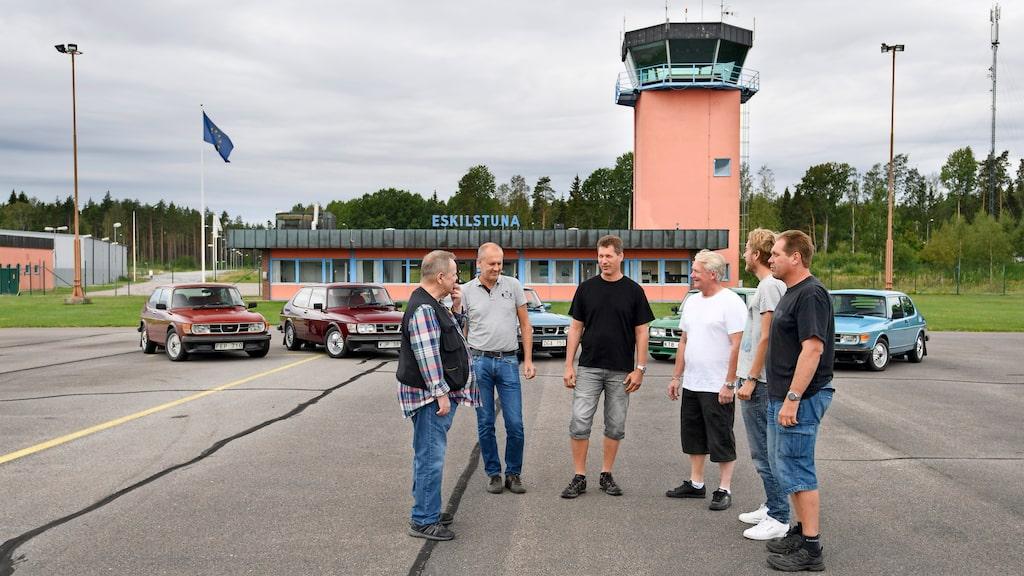 Det är inte så där hemskt mycket trafik på Eskilstuna flygplats numera så att komma in där för fotografering gick enkelt.
