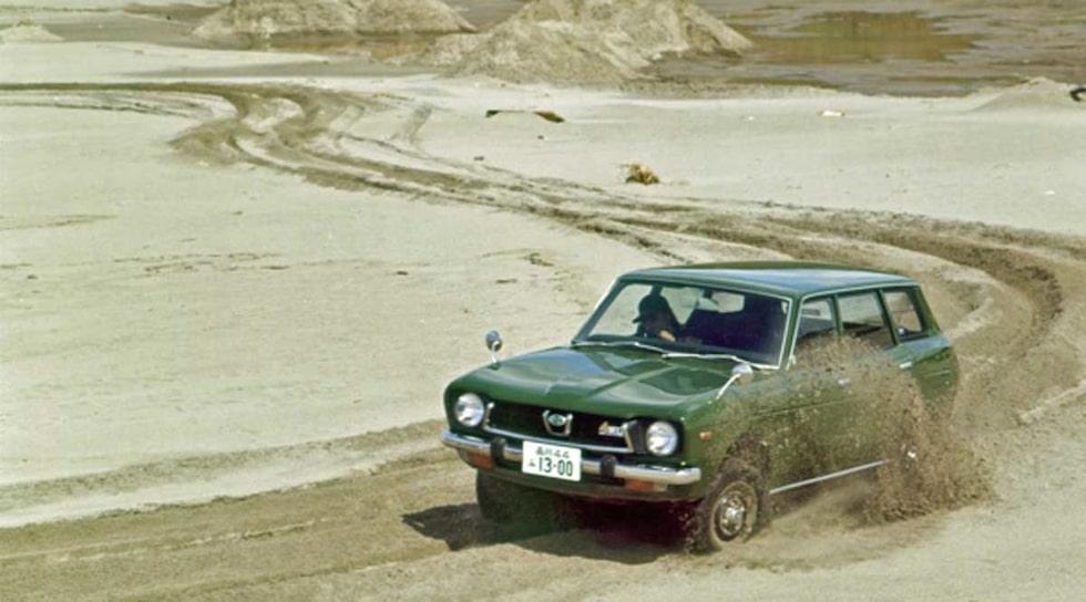 Subaru fyrhjulsdrift 40 år