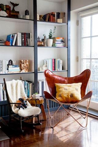 7 ovanligt snygga bokhyllor (basen är Ikeas Billy) | Sköna hem
