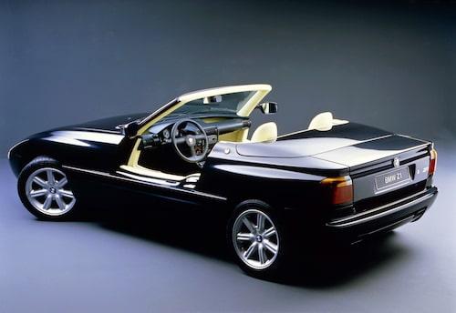 Hela idén till Z1 tog form 1985. Därefter gick det snabbt. I augusti året därefter meddelade BMW att BMW Technik GmbH har slutfört sin första produkt och att styrelsen gett den klartecken för produktion. När den för första gången ställdes ut var det på Frankfurtsalongen hösten 1987. Vad besökarna då fick se var en roadster uppbyggd på ett självbärande och galvaniserat monocoque-chassi med en delvis fiberförstärkt plastkaross med andra kompositmaterial på utvalda ställen. Alla vertikala karossdelar var av formsprutad termoplast vilket var första gången någonsin på en bil.