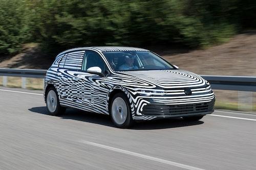 Nya Volkswagen Golf premiärvisas om några veckor.