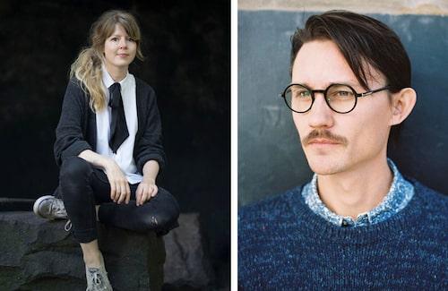 Cecilia Hikkilä och Erik Olovsson har designat unika tryck för Kånken.