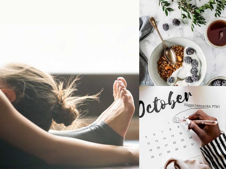 Träna hemma, duka frukost redan kvällen innan, och använd analog kalender är några hacks.