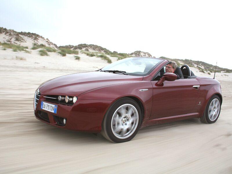 Provkörning av Alfa Spider 3,2 V6