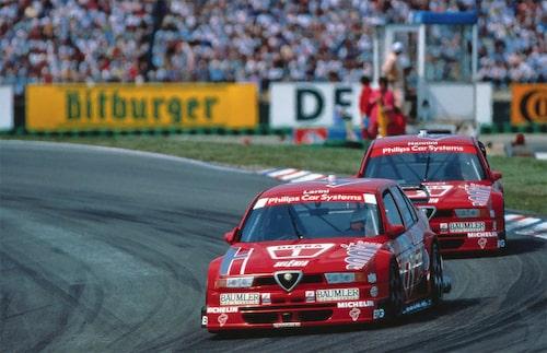 Banbilen Alfa Romeo 155 GTA i DTM 1994, ett lyckosamt år för Alfa Romeo med vinst i både DTM och BTCC.