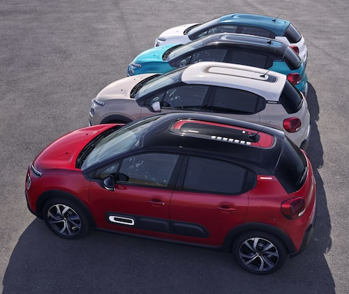 I och med uppdateringen av Citroën C3 blir valmöjligheterna, att göra bilen med personlig, betydligt större.
