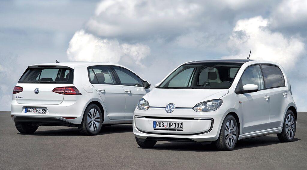 Volkswagen e-Golf och e-Up