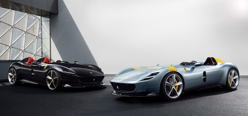 Ferrari Monza SP1 och Monza SP2
