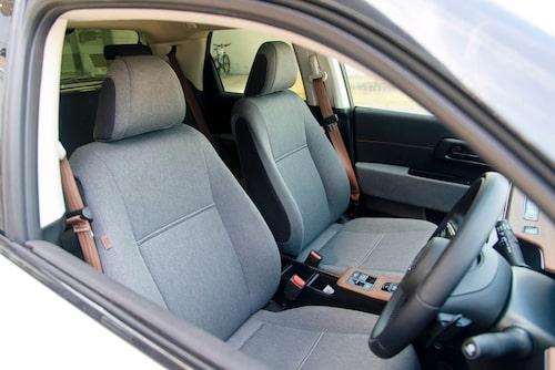 Interiören ser ut som i en konceptbil men Honda e är nästintill produktionsklar.
