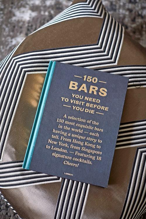 Bok 150 bars från new-mags.com, kudde, 2715kr, Bohem.
