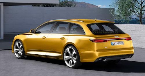 Designelementet med listen mellan de två lamporna har vi redan sett på konceptbilar.