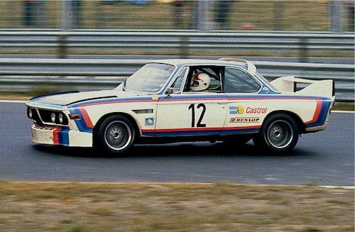 Originalet, BMW 3.0 CSL på Nürburgring 1973.