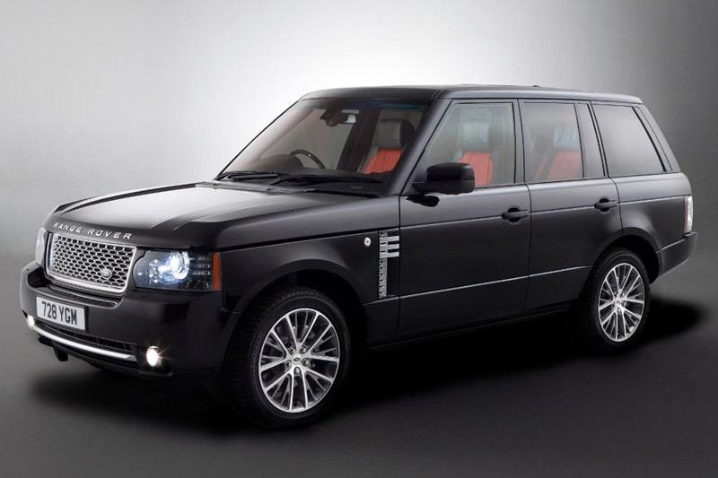 Range Rover Autobiography Black 40th Anniversary edition.
