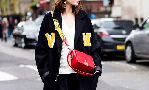 Väska från Off-white som syntes mer än en gång under Fashion Week.