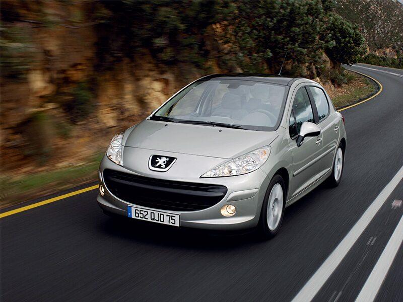 Provkörning av Peugeot 207 1,4