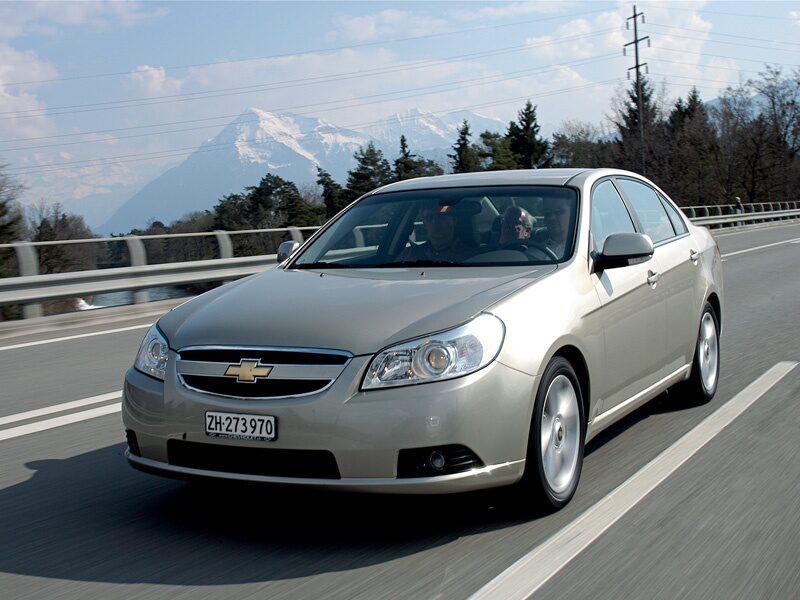 Provkörning av Chevrolet Epica
