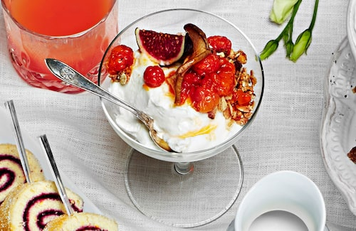 Recept på yoghurtskål