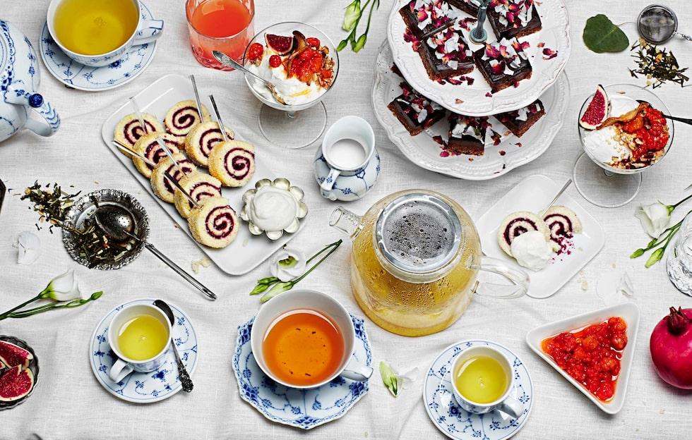 Afternoon tea – alla tillbehör du behöver.