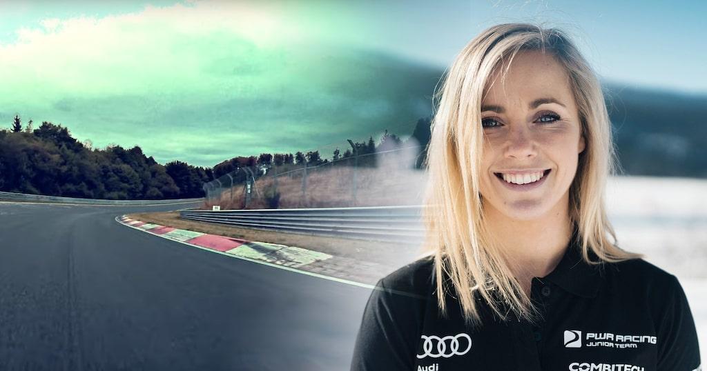 Mikaela Åhlin-Kottulinsky är ambassadör för bilsportlägret för tjejer.