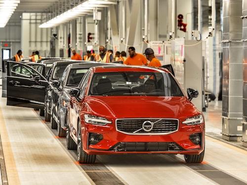 S60-produktion i USA för kinesiska marknaden? Inte aktuellt.