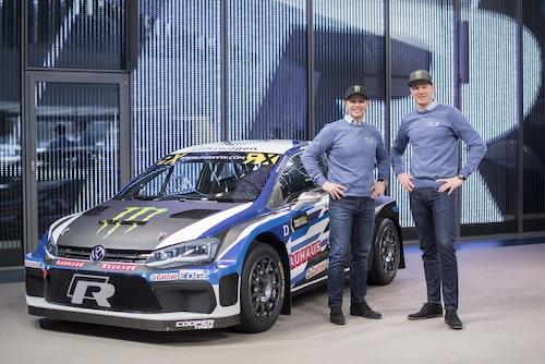 Volkswagen Polo R PSRX med Petter Solberg och Johan Kristoffersson.
