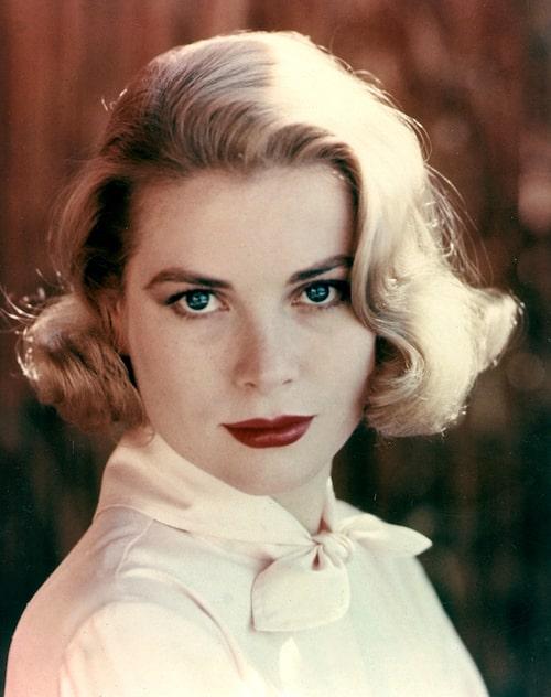 Grace Kelly fotograferad 1955.