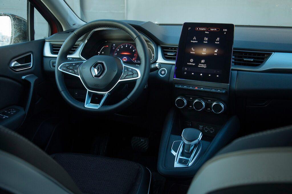 Renaults stora pekskärm är snygg att titta på, och alldeles hemsk att hantera.