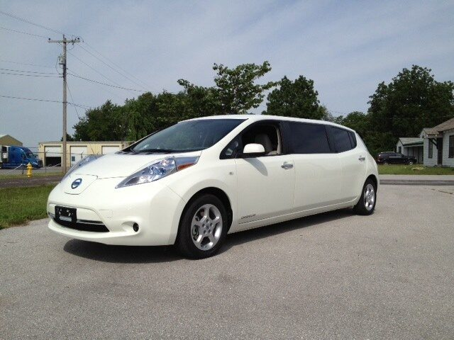 Nissan Leaf har byggts om till...
