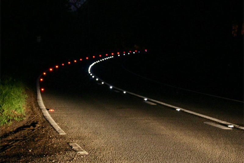 071123-led-natt-ljus-väg